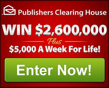 ENDED: Enter To Win $2,600,000 Plus $5,000 A Week For Life